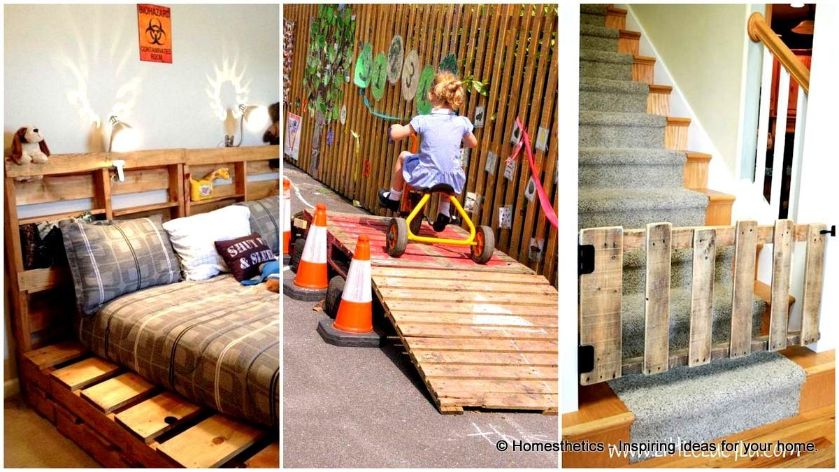 Highly Ingenious Cost Efficient Pallet Diy Projects