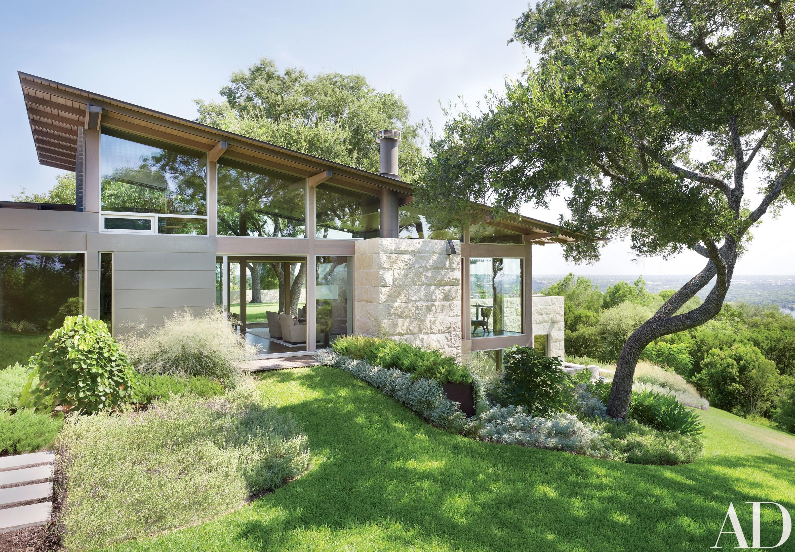 Hillside Home Austin Texas Becomes Coveted