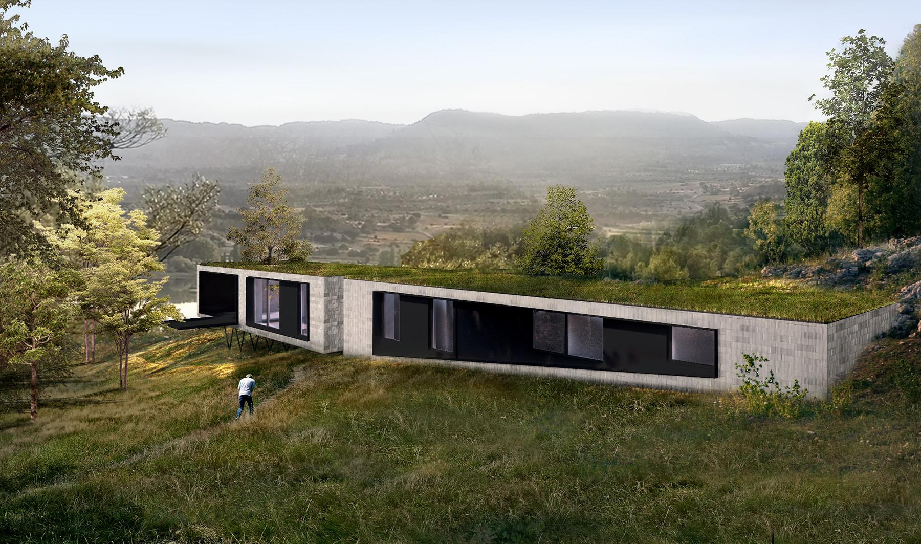 Hillside House Idearch Studio