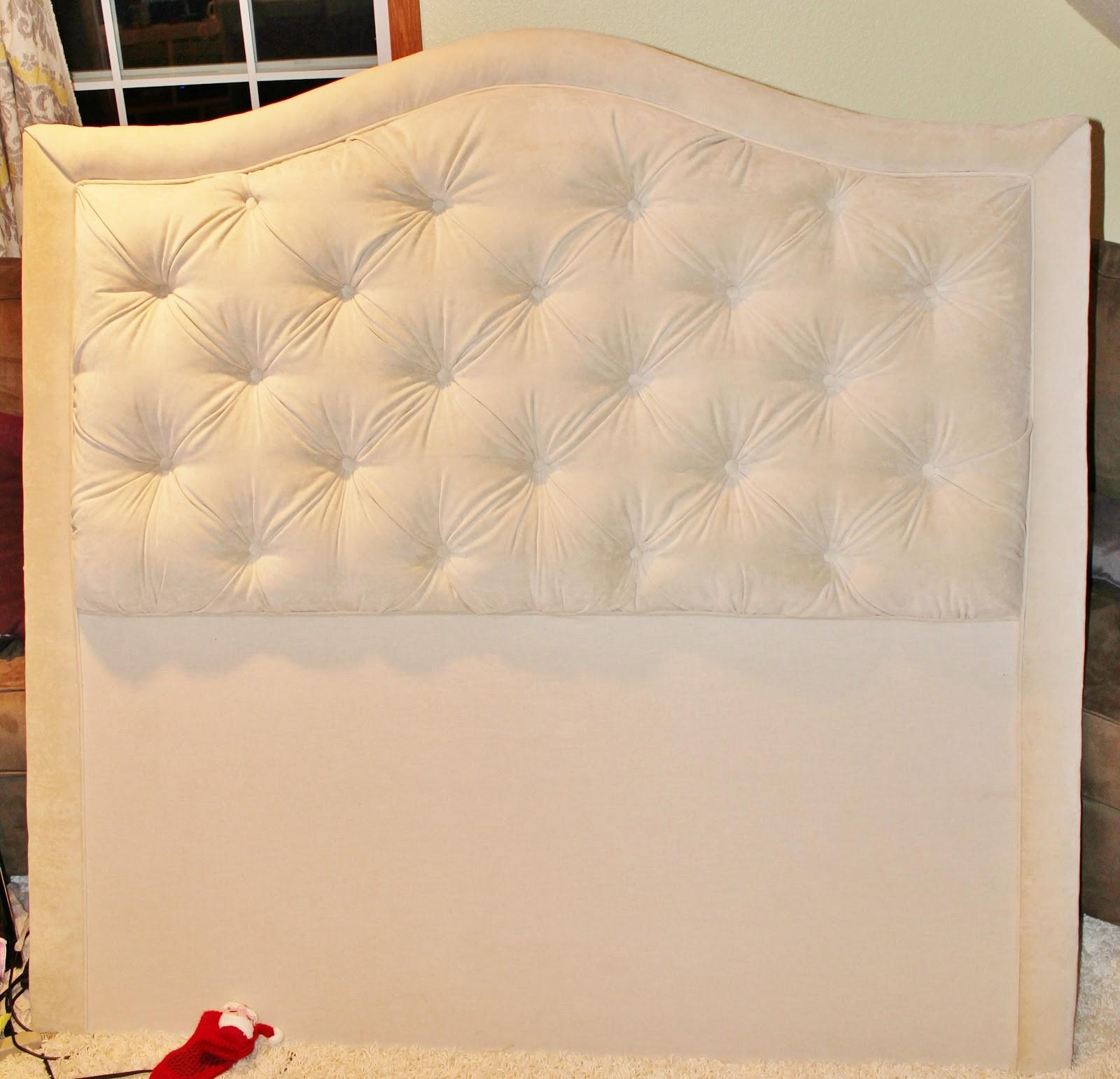 Hipholstery Diy Easy Tufted Headboard