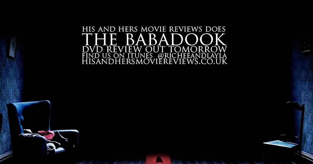 His Hers Movie Babadook Out Tomorrow