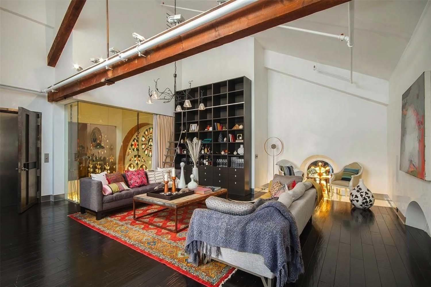 Historical Church Features Spectacular Penthouse Living