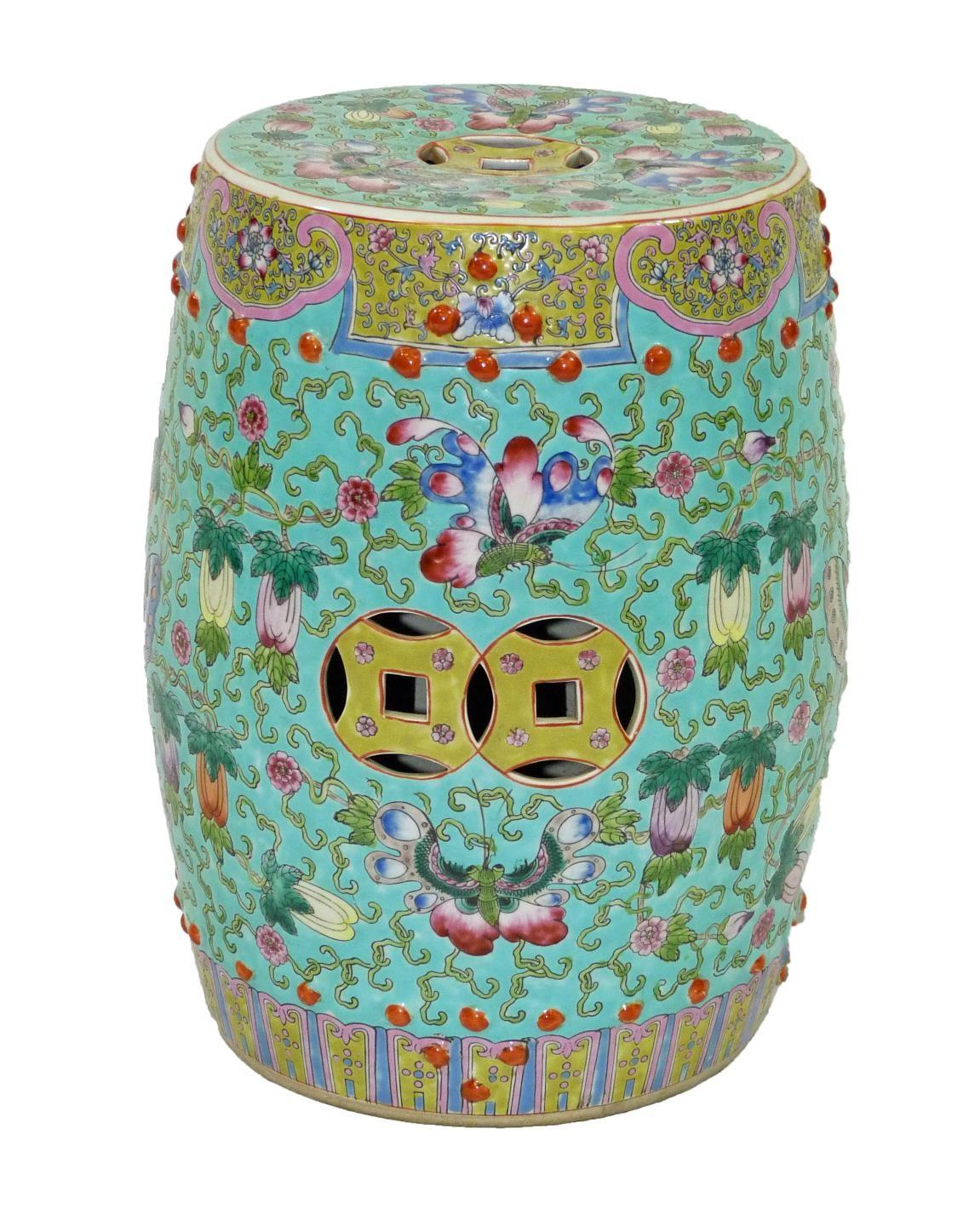 History Chinese Garden Stool Home Decorations Insight