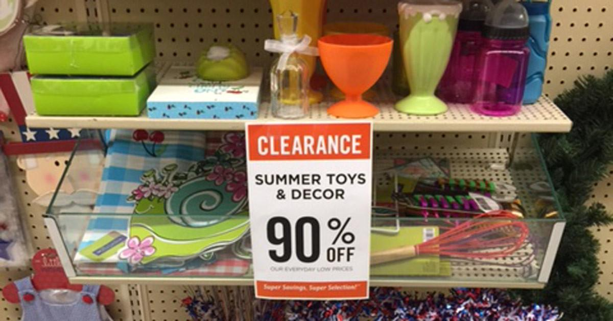 Hobby Lobby Summer Decor Clearance Hip2save
