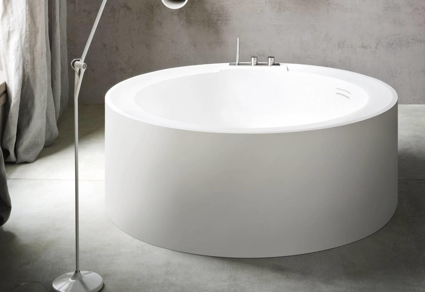 Hole Bathtub Round Rexa Design Stylepark