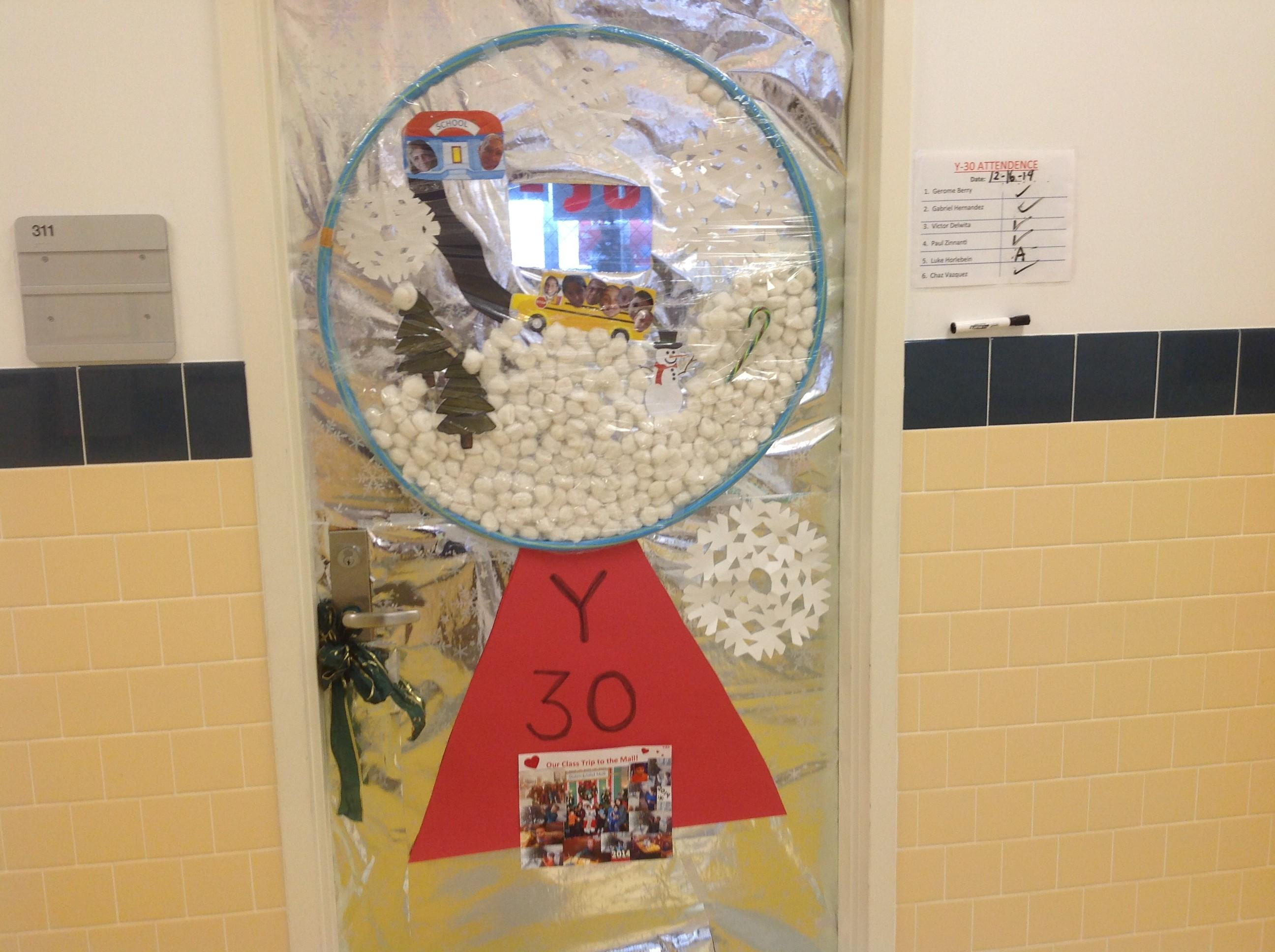Holiday Door Decorating Contest Adventures Speech