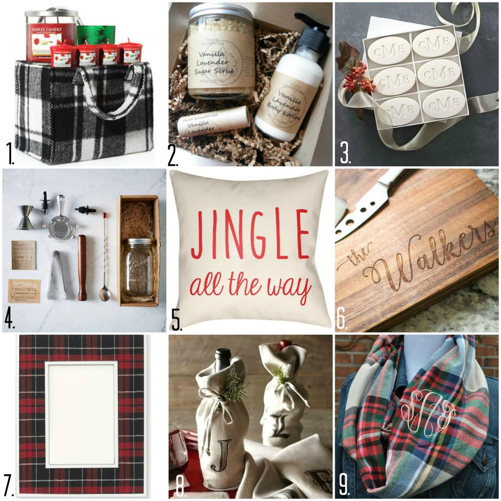 Holiday Gift Giving Guide Hostess Under