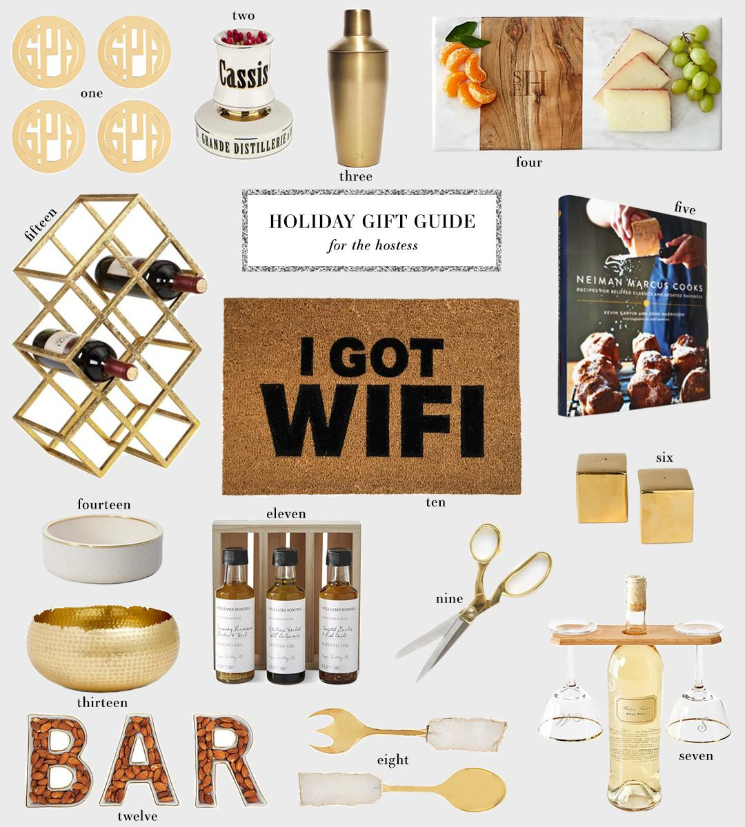 Holiday Gift Guide Hostess Style Scribe