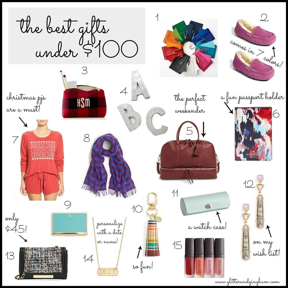 Holiday Gift Guide Vol Best Gifts Under 100 Glitter