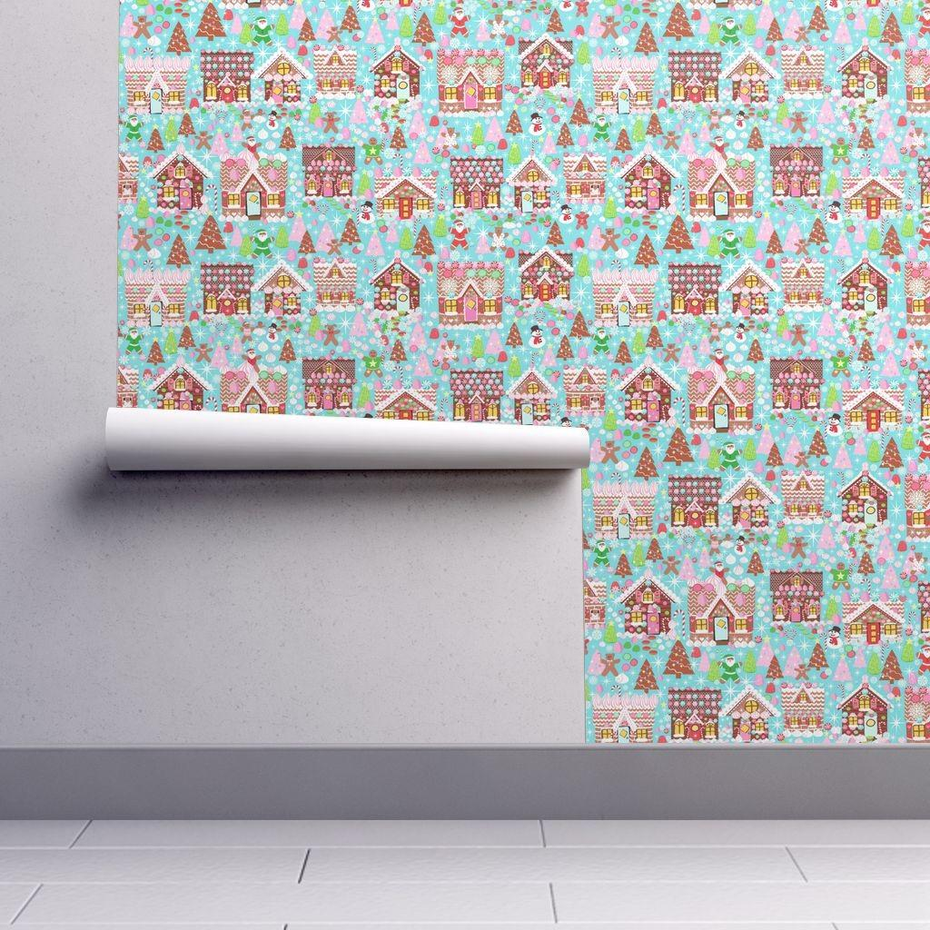 Holiday Gingerbread House Christmas Placemats
