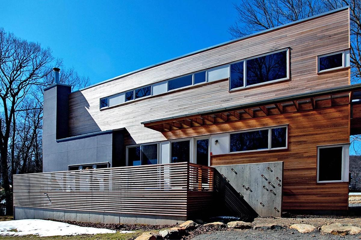 Holiday Home Built Shipping Containers