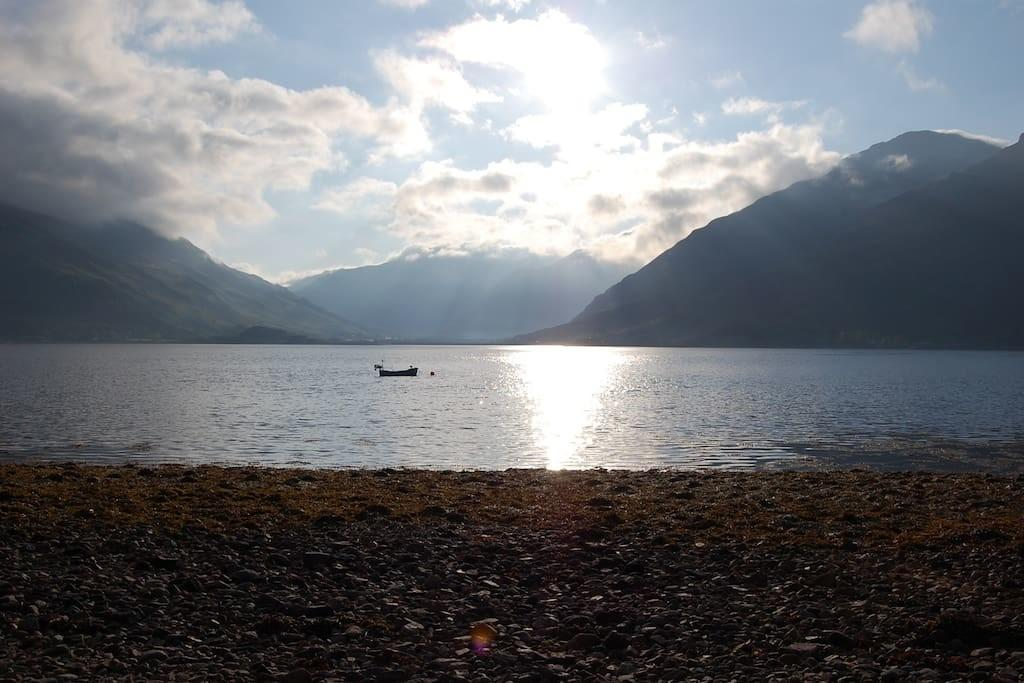 Holiday Home Loch Duich Near Isle Skye Cottage