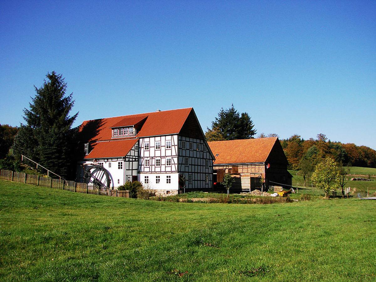 Holiday House Historic Mill Freienhagen Edersee Werner