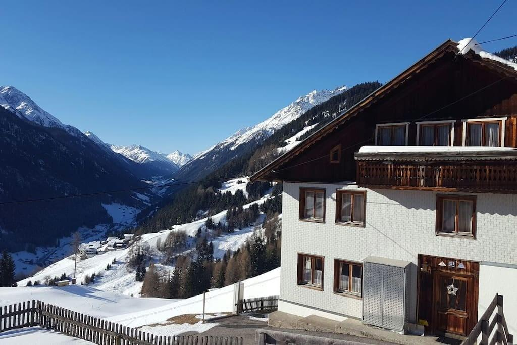 Holiday House Oberhaus Chalets Rent Kappl Tirol