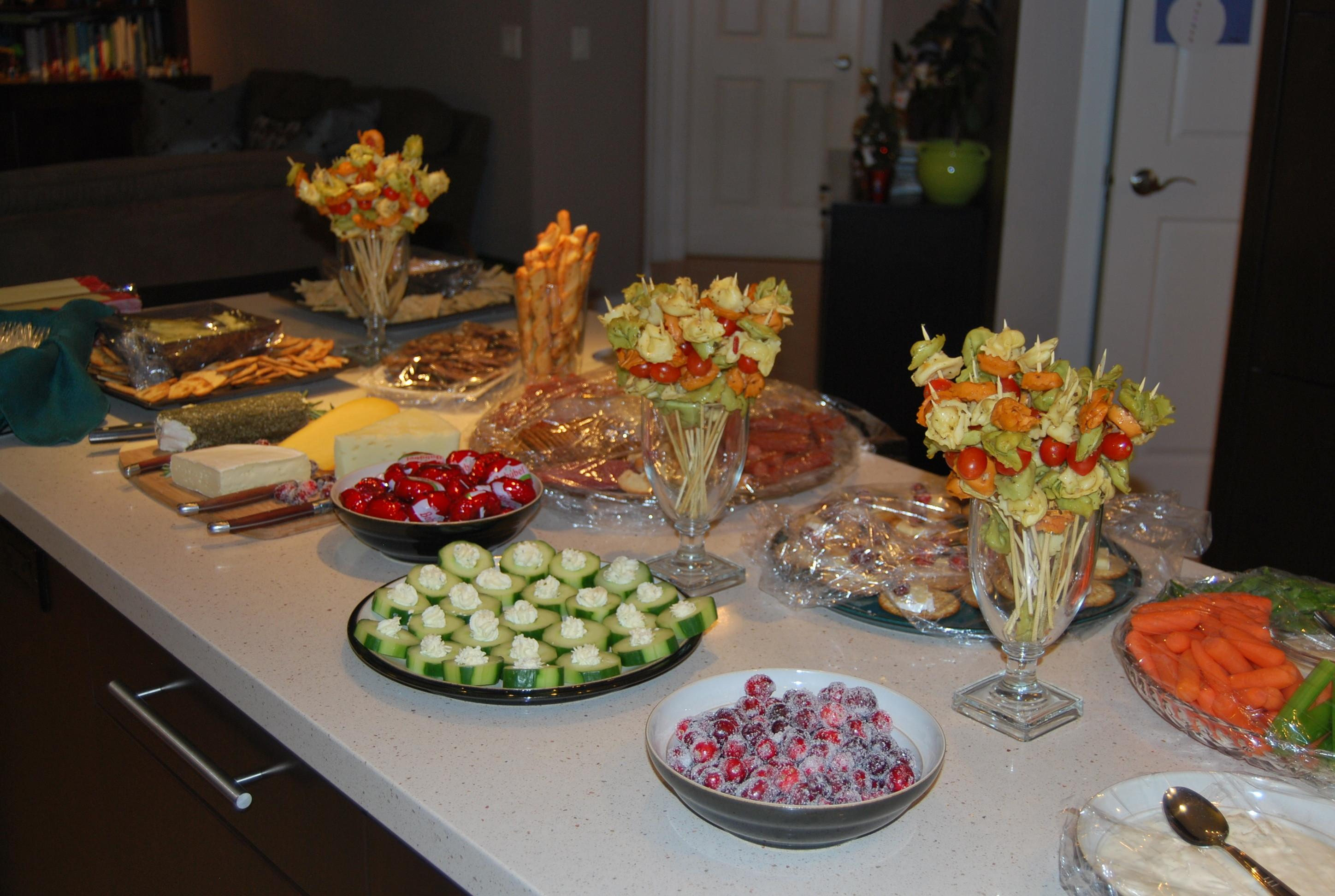 Holiday Party Appetizer Ideas Weekend Round