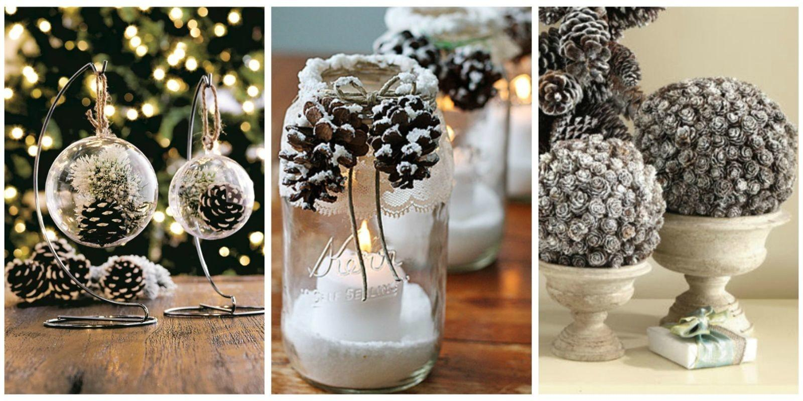 Holiday Pine Cone Crafts Ideas Pinecone Christmas