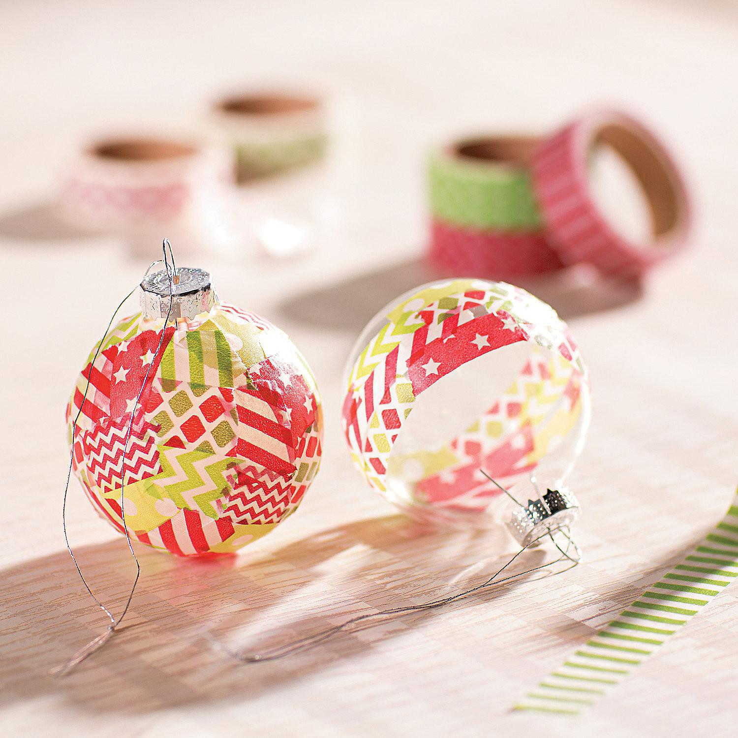 Holiday Washi Tape Ideas