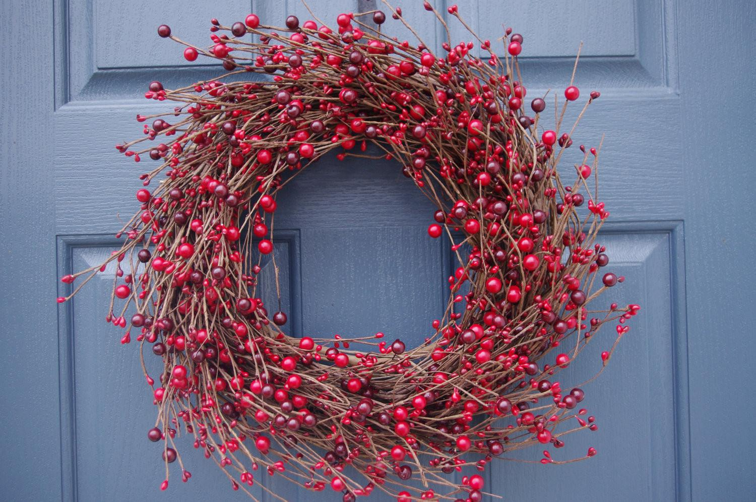 Holiday Wreath Red Berry