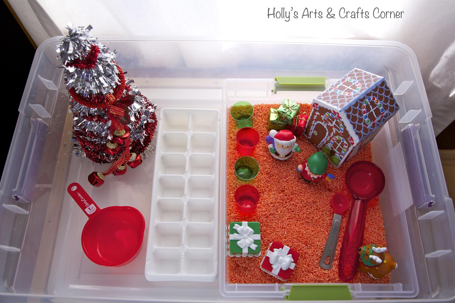 Holly Arts Crafts Corner Toddler Sensory Activity