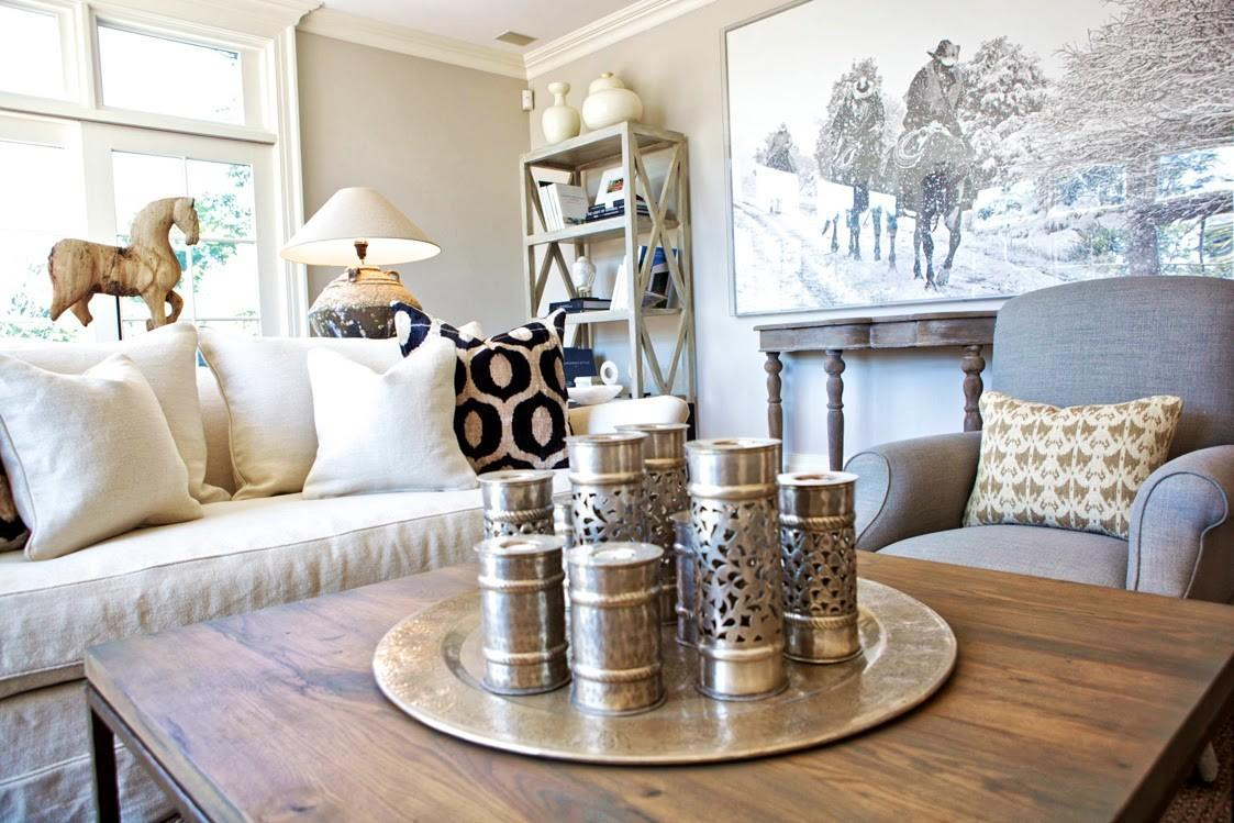 Hollywood Glamour Living Room Furniture
