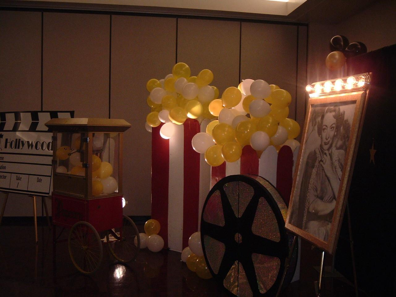 Hollywood Theme Party Decor Rental 480 497 3229themers