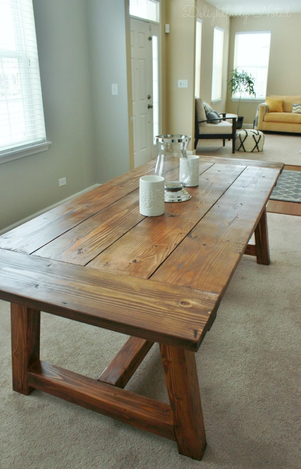 Holy Cannoli Built Farmhouse Dining Room Table