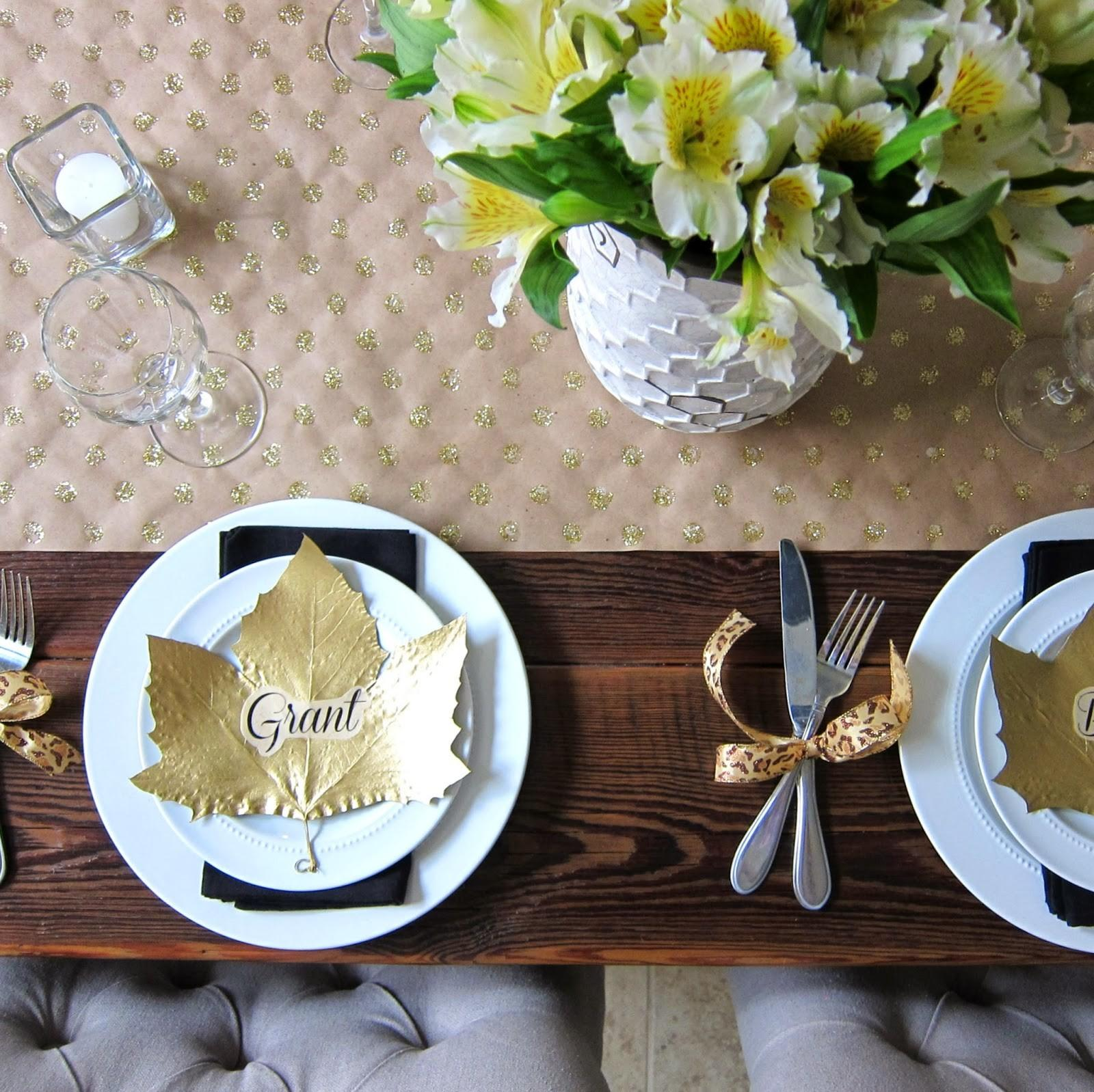 Home Coming Guest Post Diy Thanksgiving Table