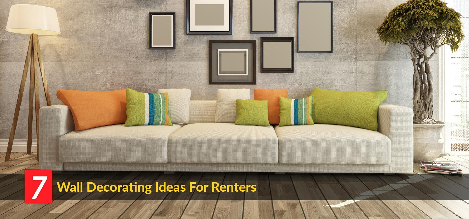 Home Cor Ideas Here Renters Can Decorate Walls