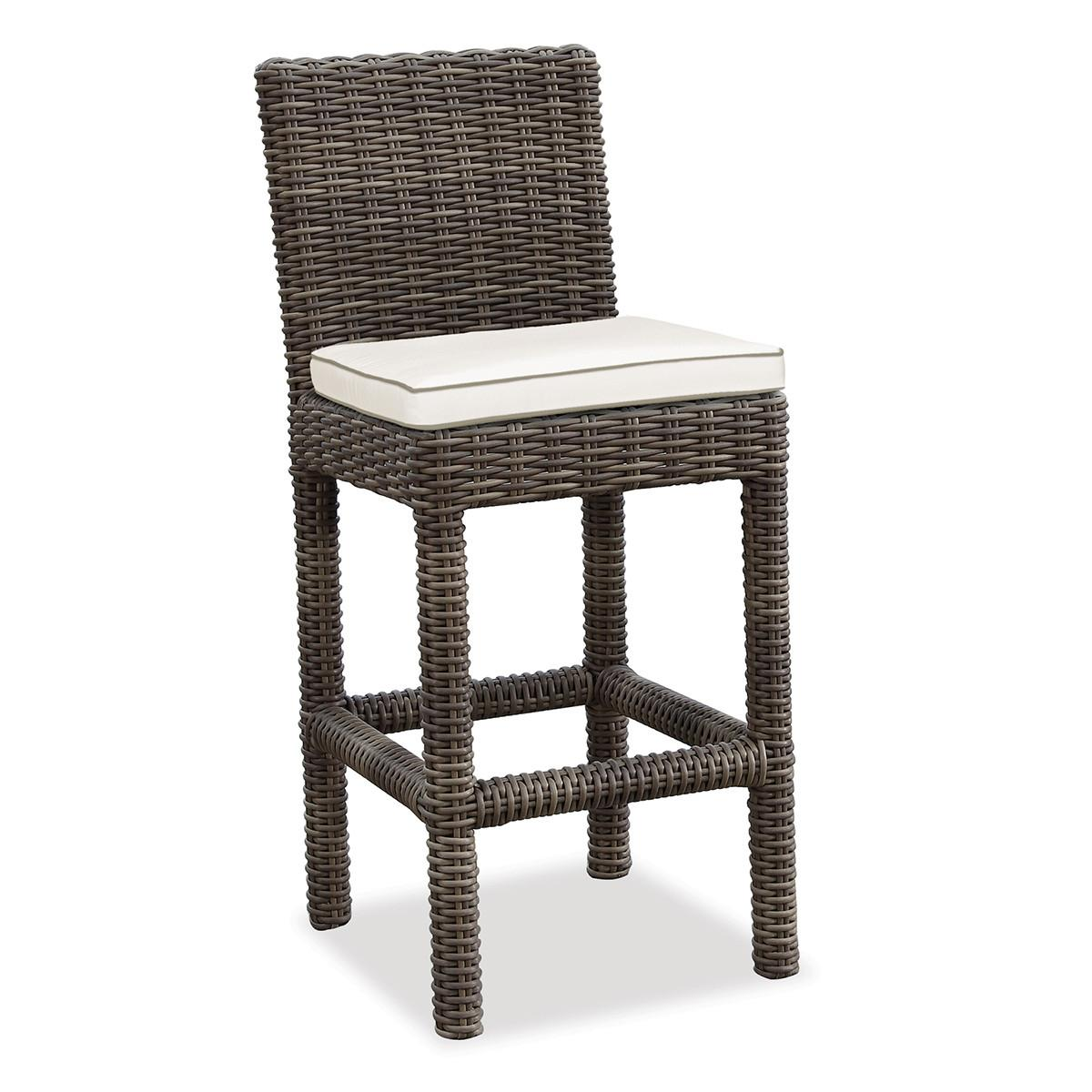 Home Decor Appealing Wicker Bar Stools Complete Stool