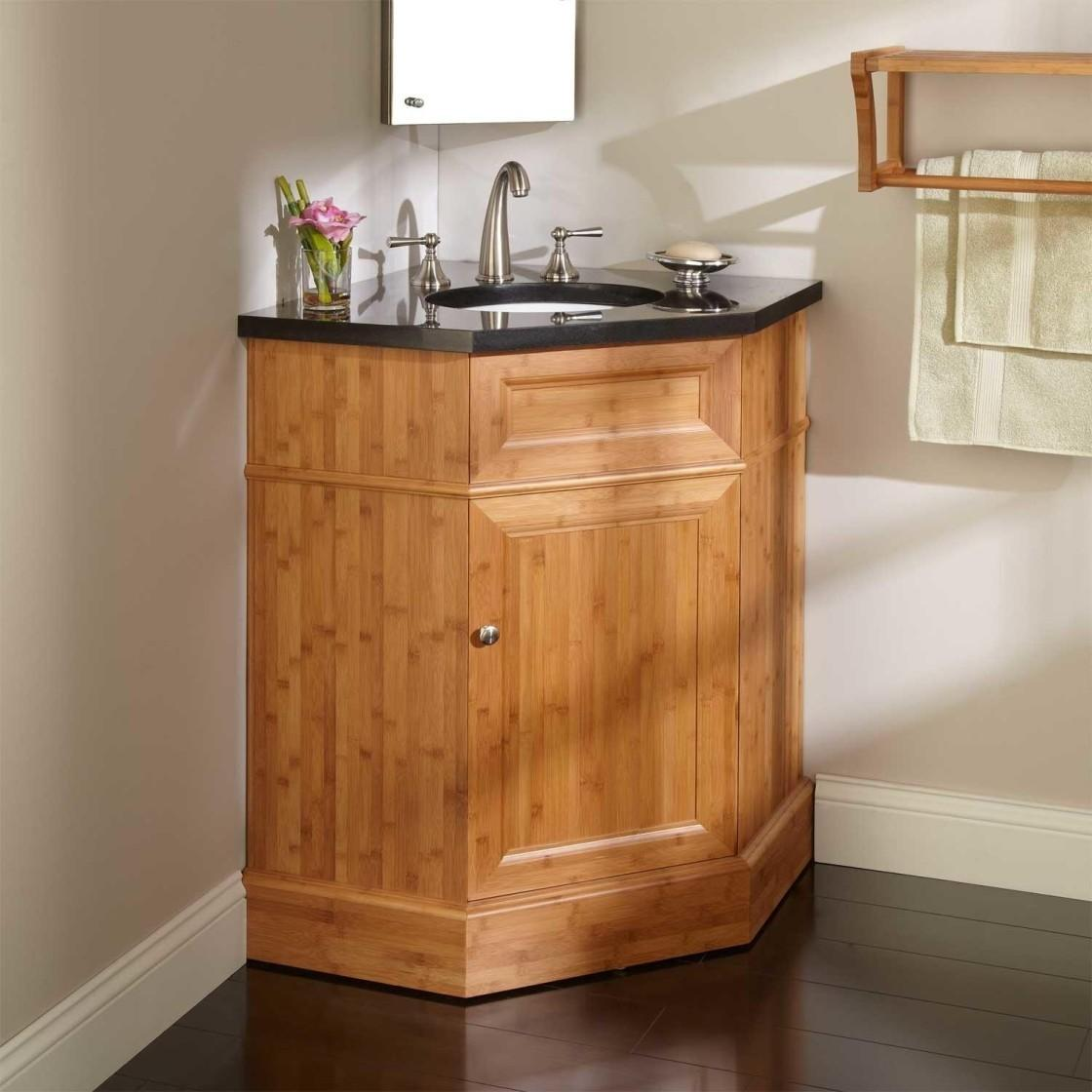 Home Decor Bathroom Corner Vanity Units Cloakroom