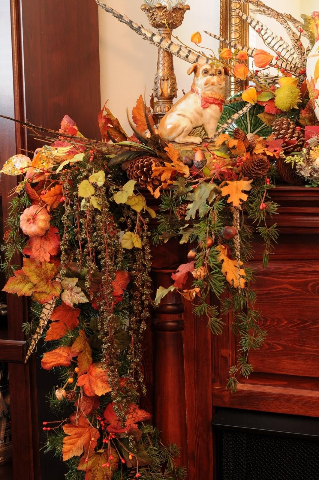 Home Decor Design Fall Thanksgiving