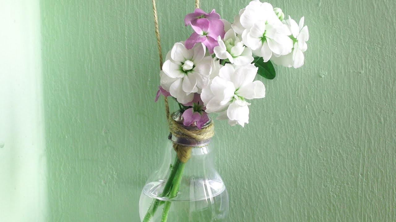Home Decor Diy Light Bulb Vase