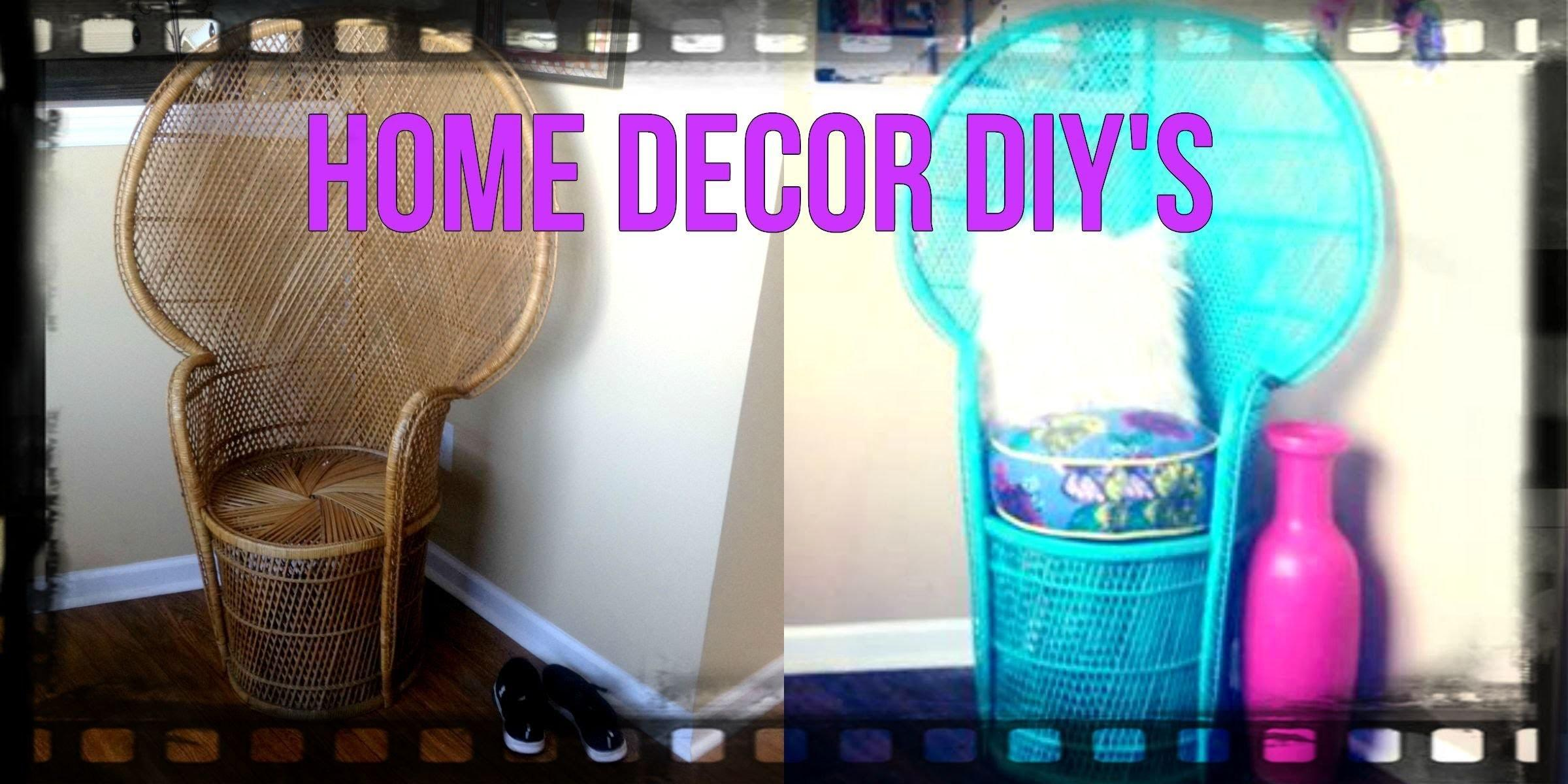Home Decor Diy Peacock Chair Style Around