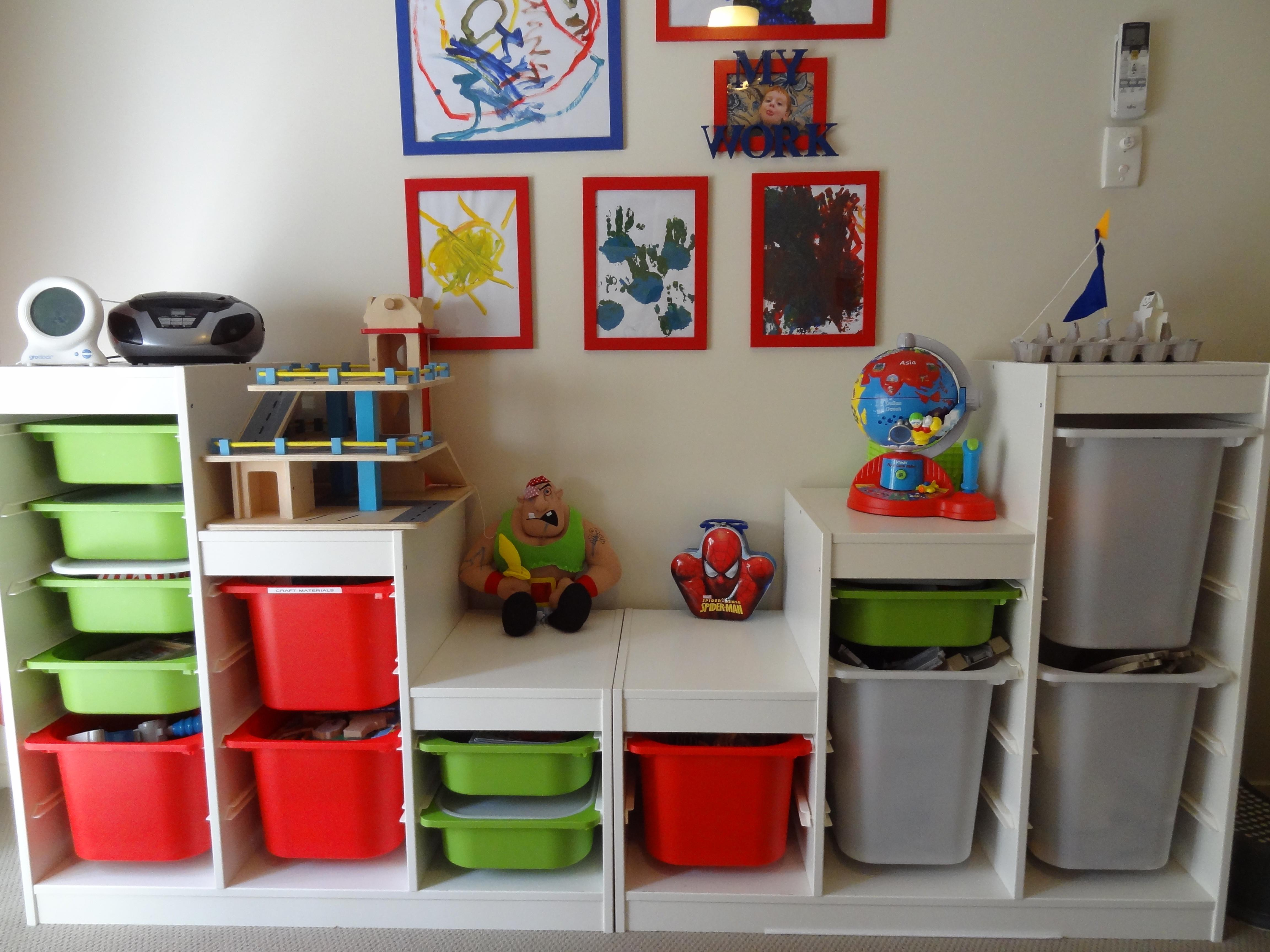 Home Decor Fireplace Chic Toy Storage