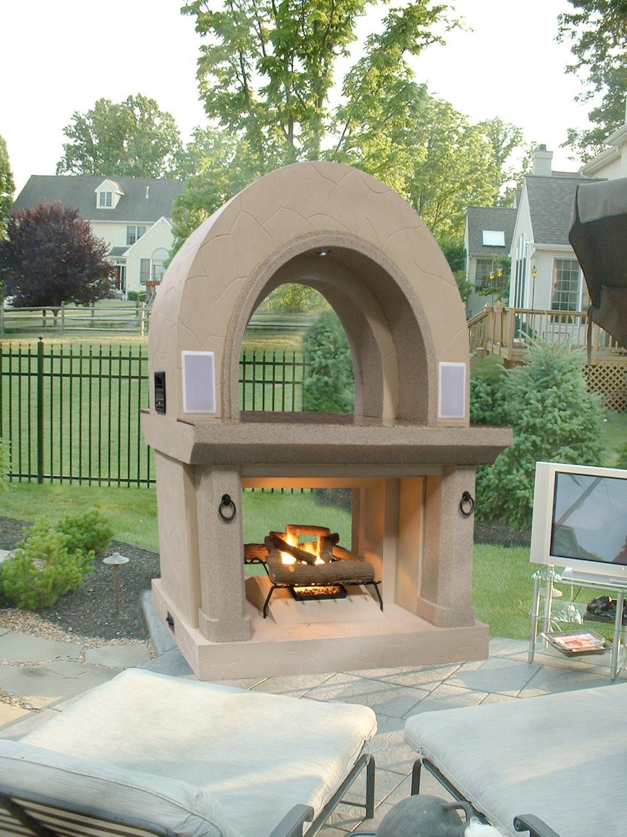 Home Decor Fireplaces Warm Patios Outdoor Rooms