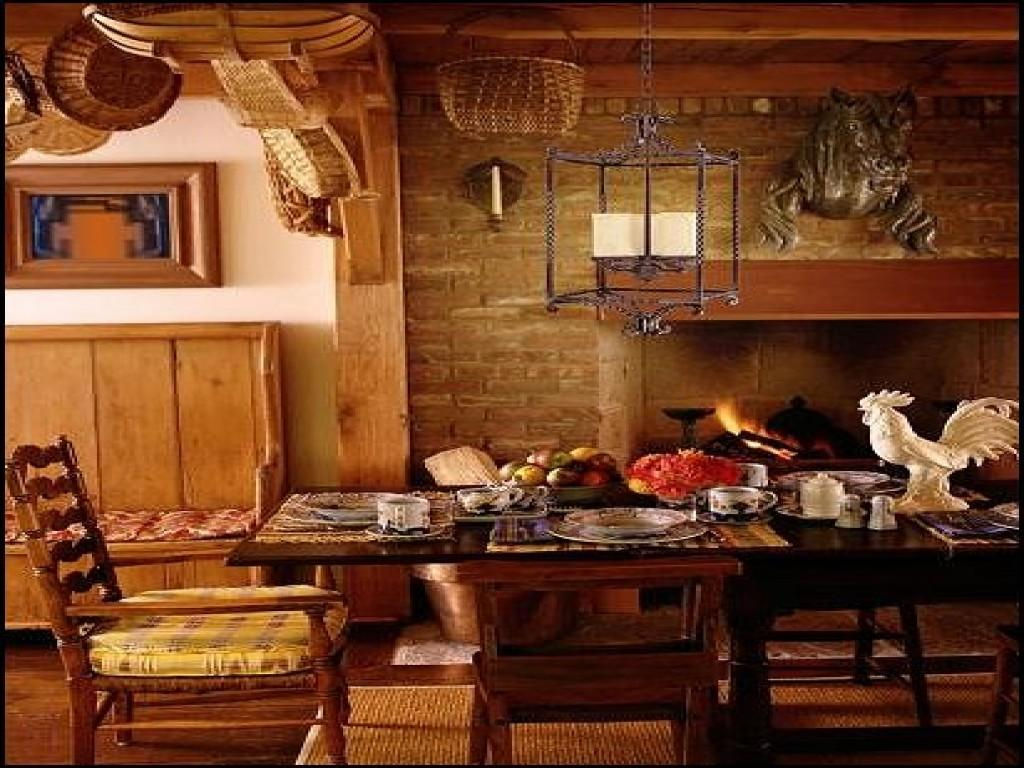 Home Decor French Country Little Kitchens