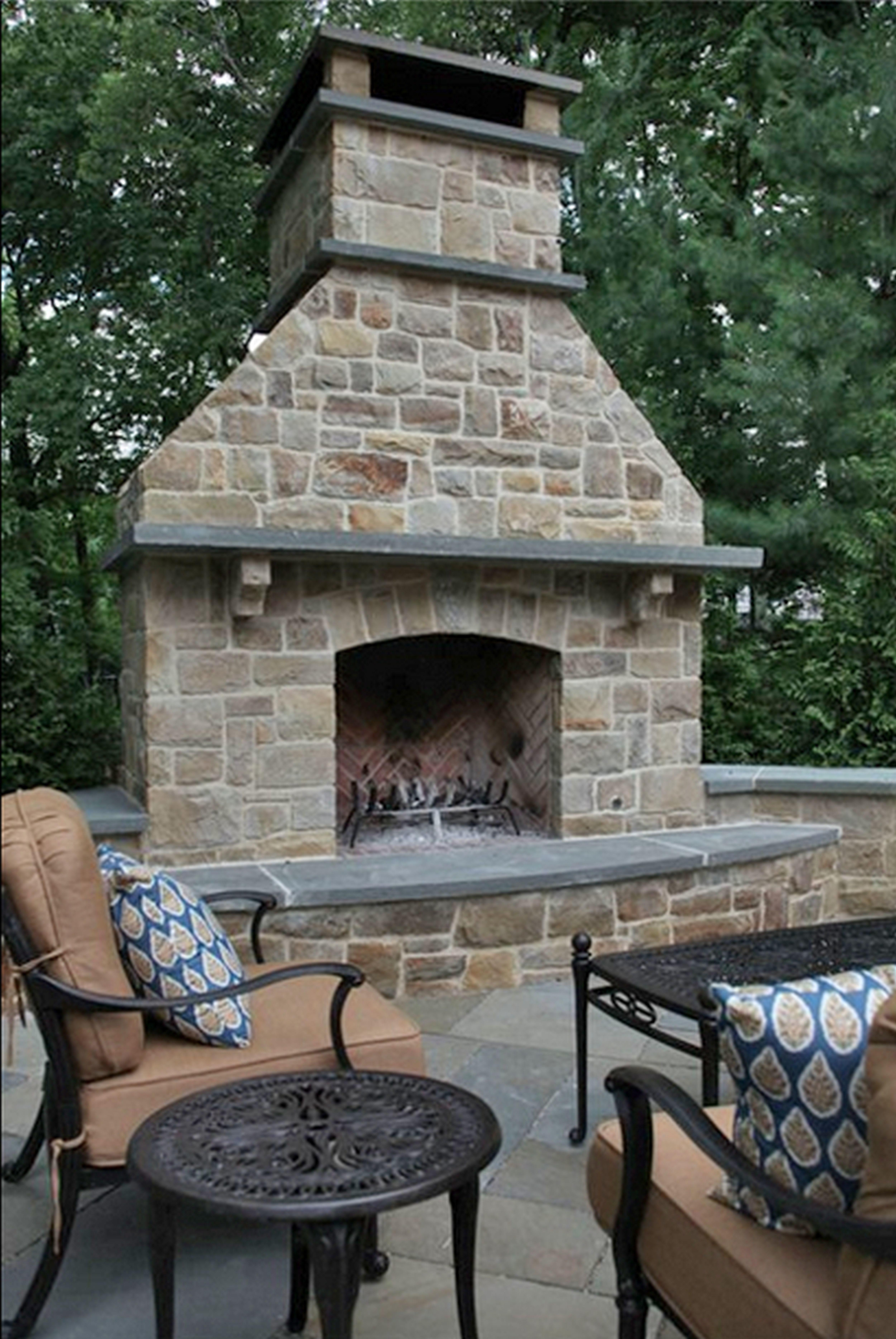 Home Decor Gas Outdoor Fireplaces Awesome Simple Faux
