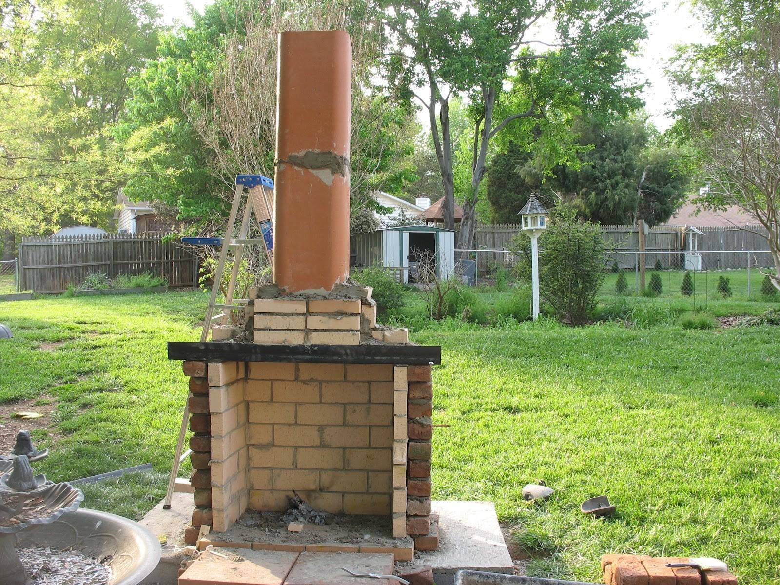 Home Decor Jamesdhogan Outdoor Fireplace Project