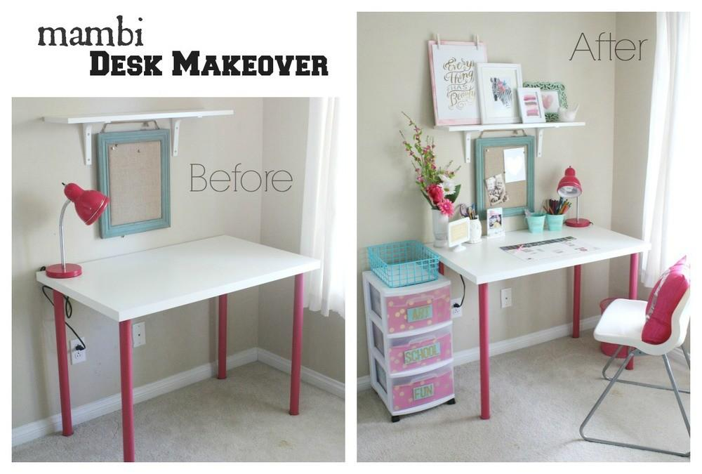 Home Decor Mambi Desk Makeover Big Ideas