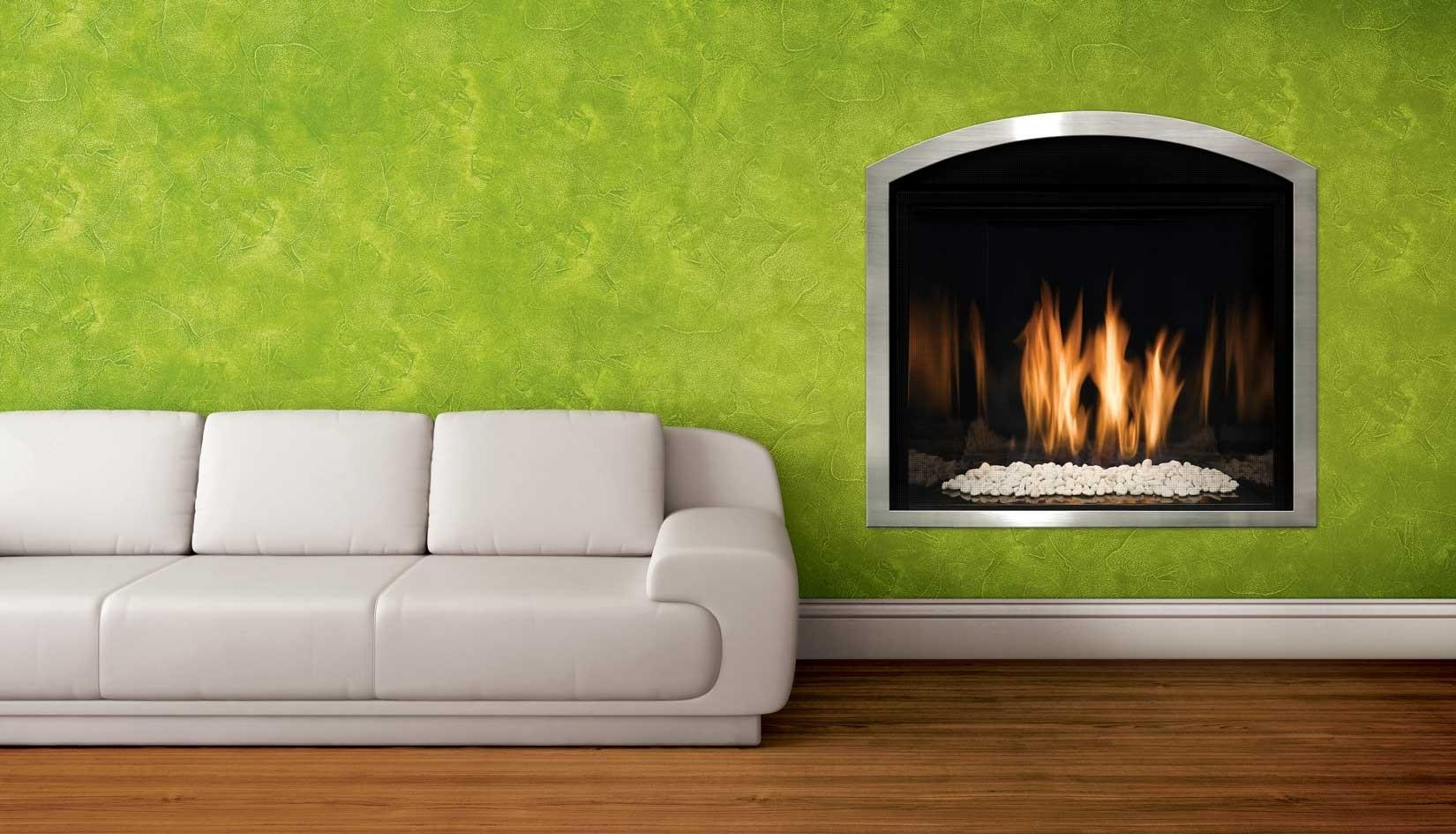 Home Decor Modern Gas Fireplace Inserts Commercial