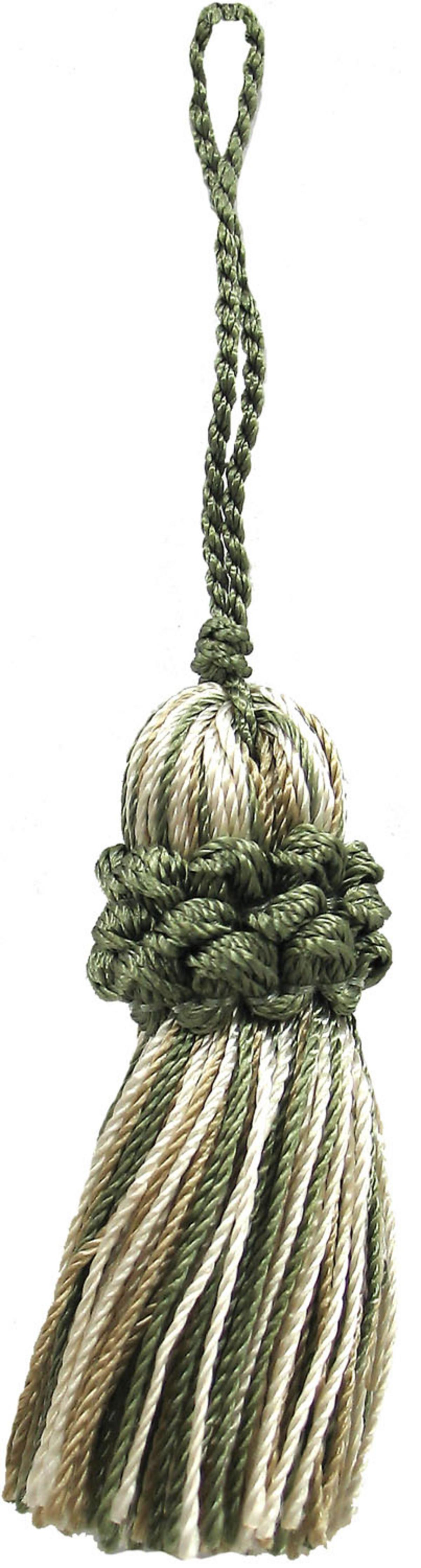 Home Decor Trim Conso Sage Taupe Tassel Ann