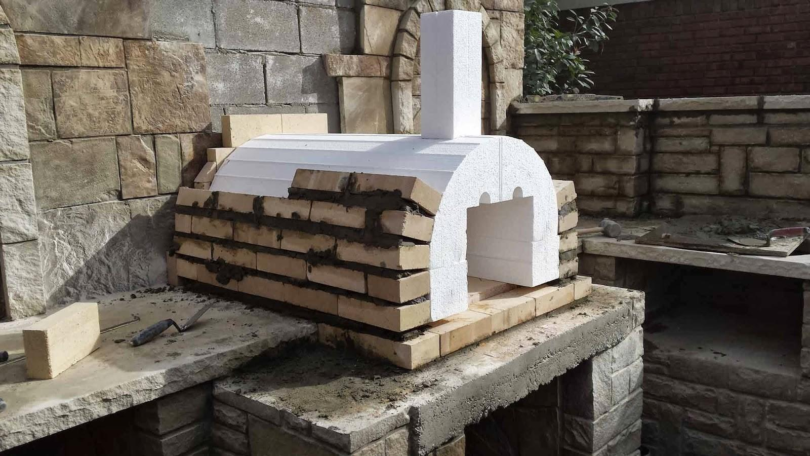 Home Decor Wood Fired Pizza Oven Plans Wall Mounted