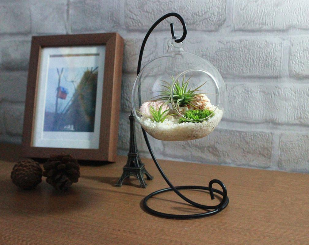 Home Decoration Office Desk Decor Terrarium Kit Quartz