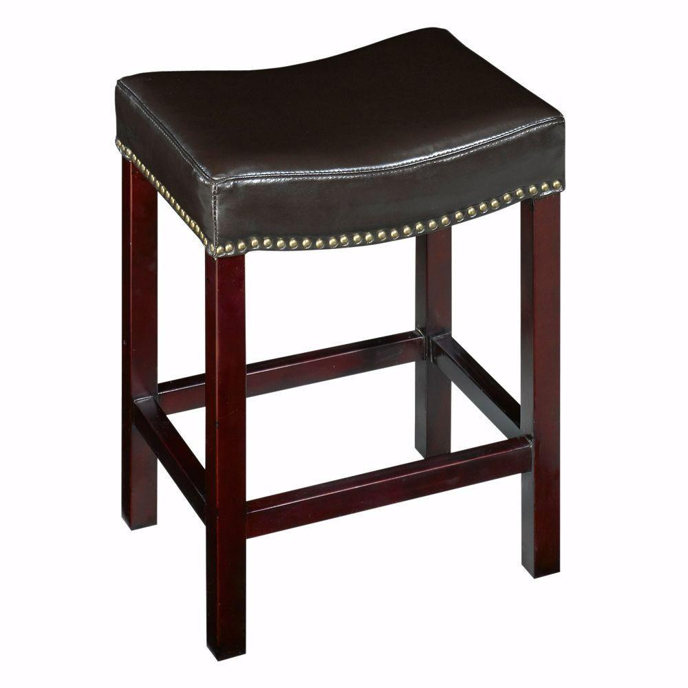 Home Decorators Collection Dark Brown Cushioned