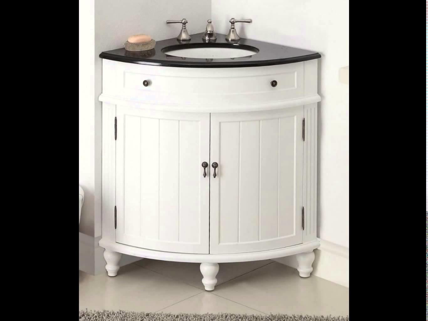 Home Design Corner Bathroom Vanity Sink