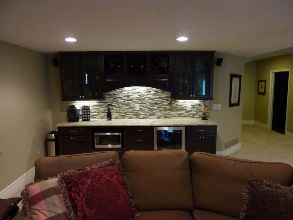 Home Design Glamorous Small Finished Basement Ideass