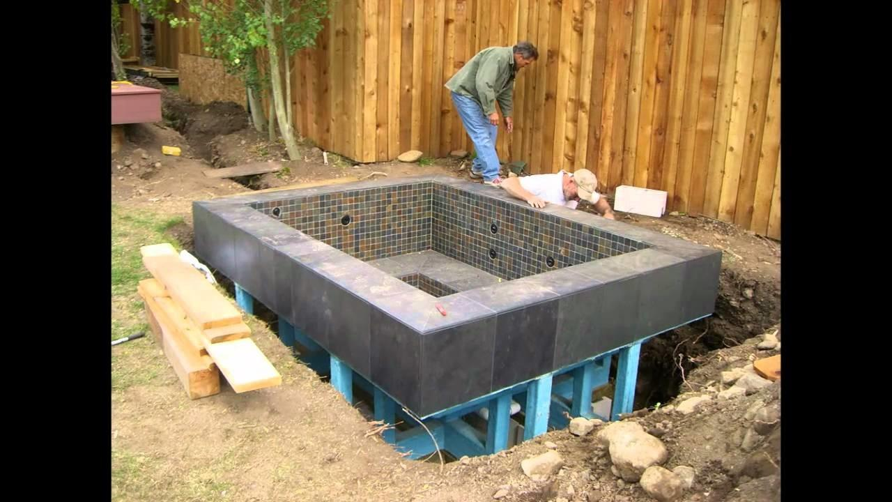 Home Design Ideas Build Your Own Hot Tub Homemade