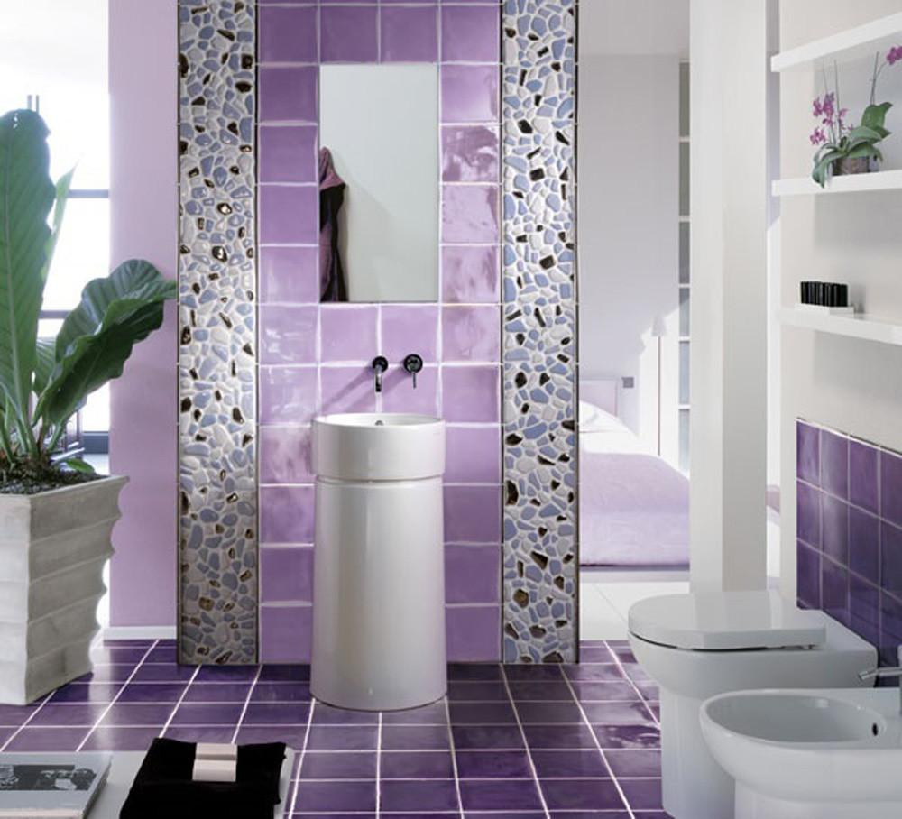 Home Design Interior Monnie Purple Bathroom Ideas 2015