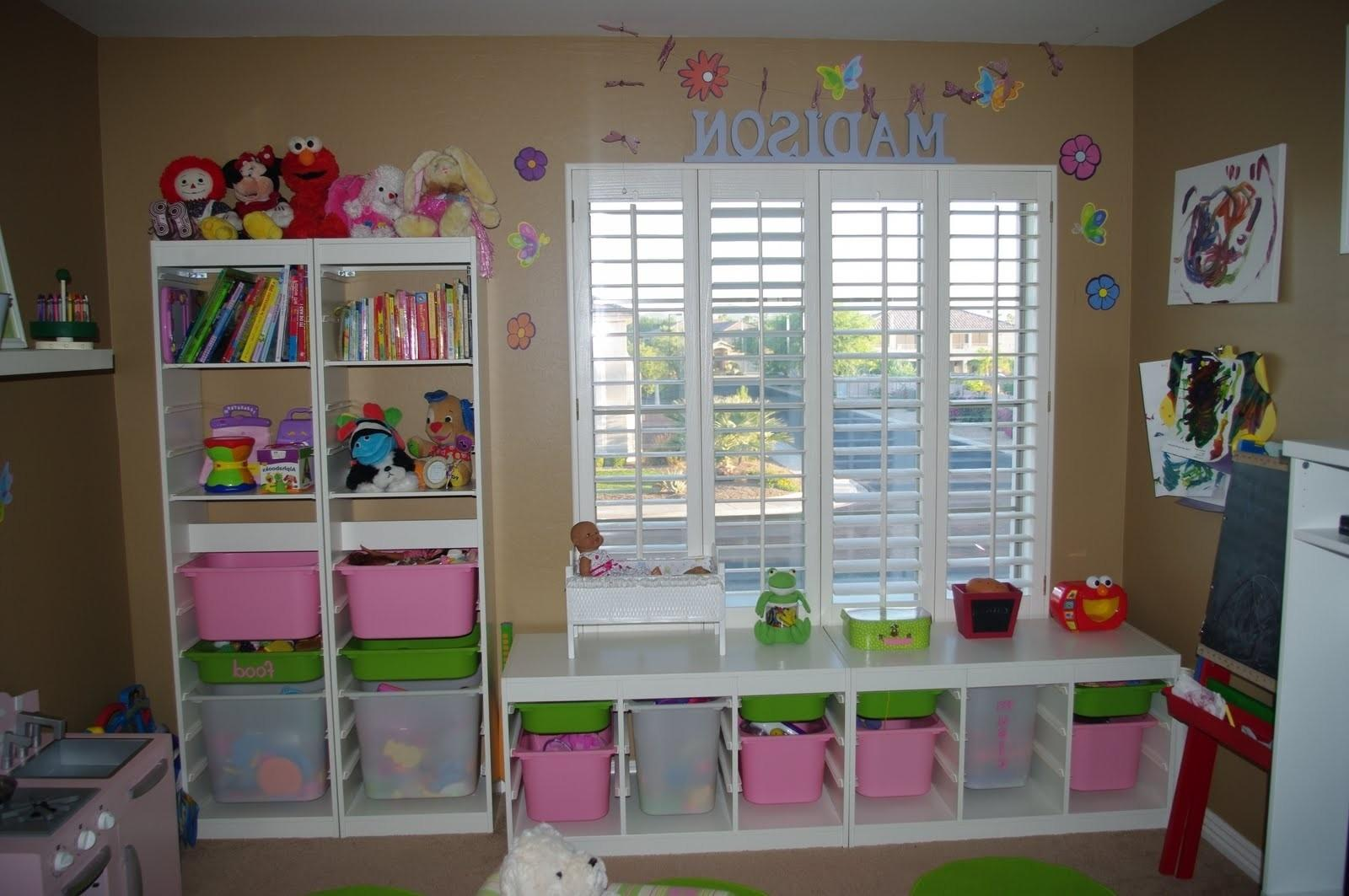 Home Design Outstanding Toy Room Storage Ideass