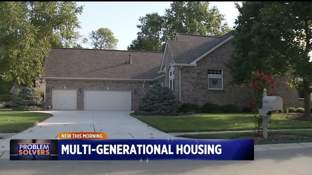 Home Designers Working Build Multi Generational Housing